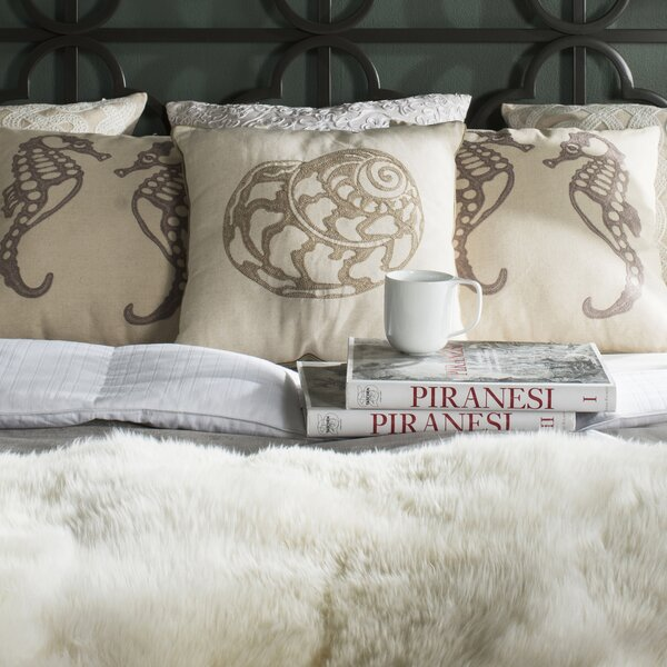 Torrington 100% Cotton Throw Pillow (Set of 2) by Rosecliff Heights